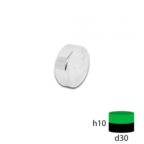Неодимовый магнит 30х10 мм.