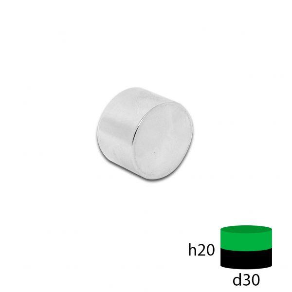 Неодимовый магнит 30х20 мм.