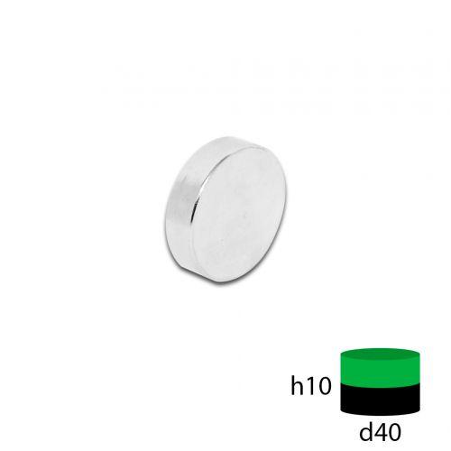 Неодимовый магнит 40х10 мм.