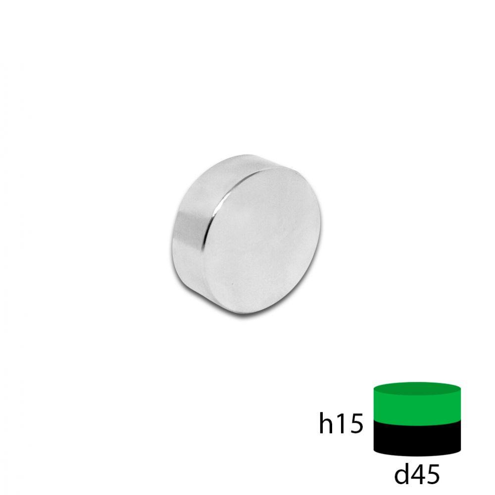 Неодимовый магнит 45х15 мм.