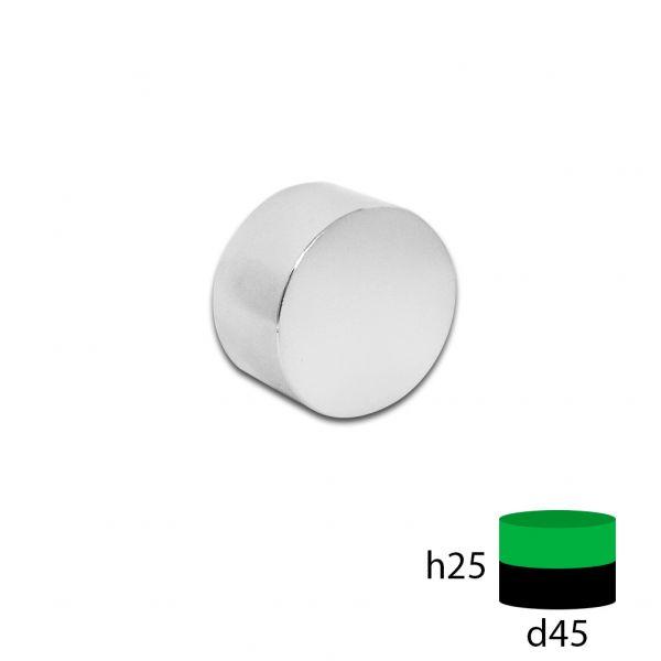 Неодимовый магнит 45х25 мм.