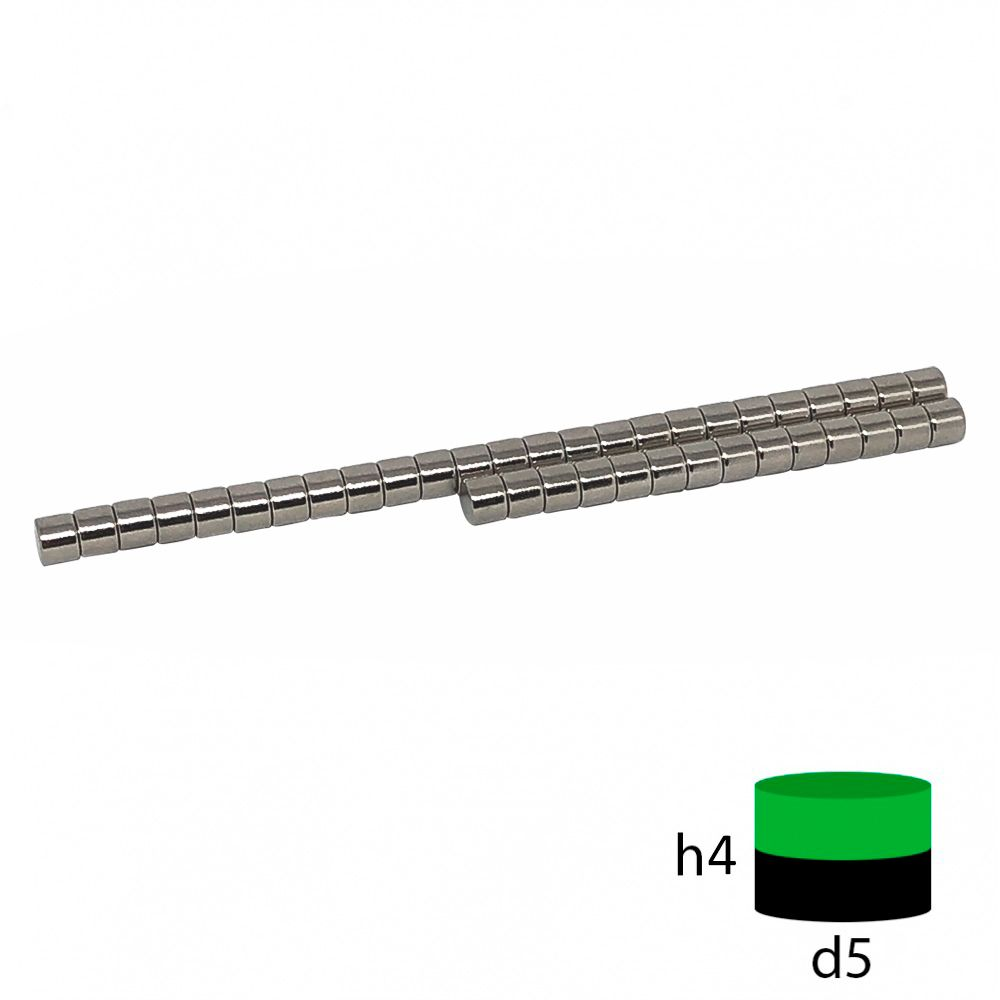 Неодимовый магнит пруток 5х4 мм.