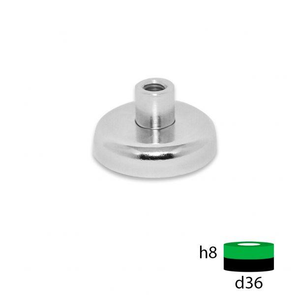 Магнитное крепление под болт D36