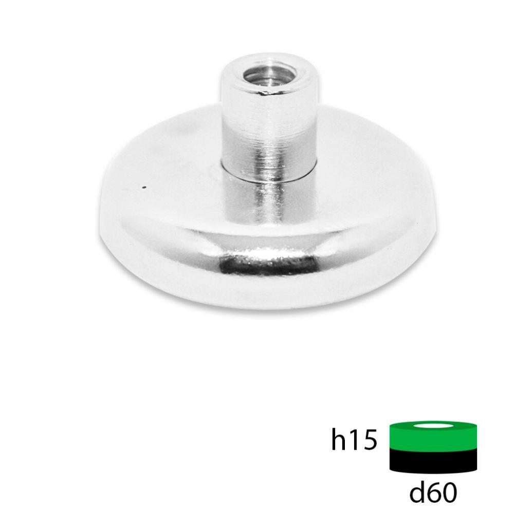 Магнитное крепление под болт D60