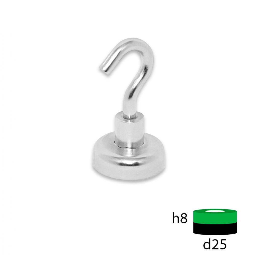 Магнитное крепление с крюком Е25