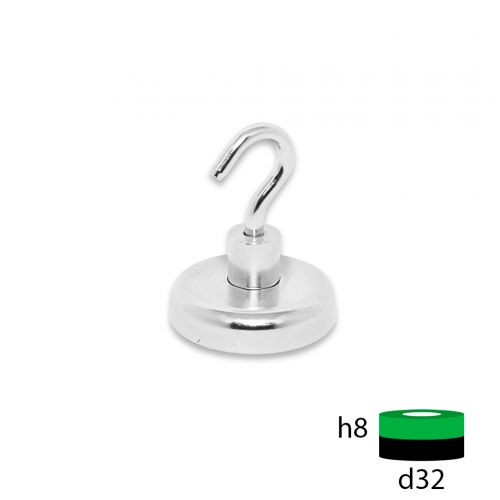 Магнитное крепление с крючком Е32