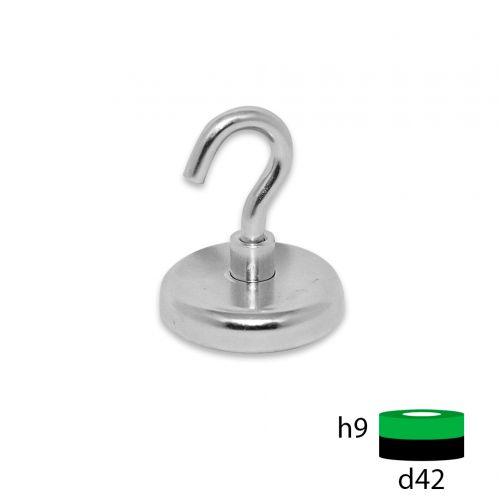 Магнитное крепление с крючком Е42