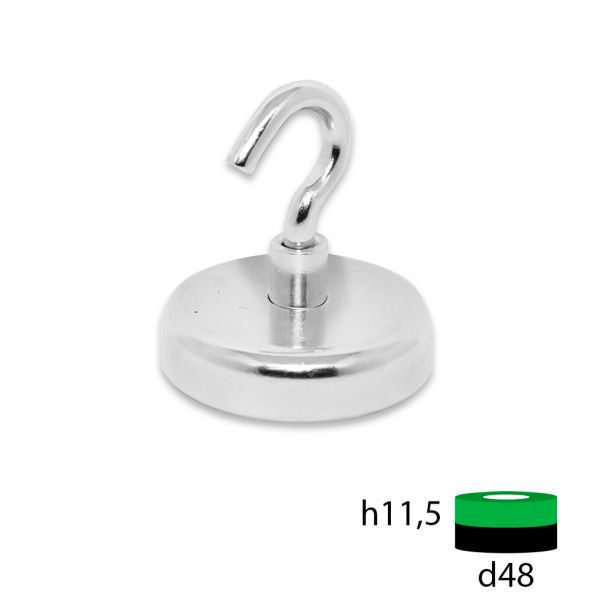 Магнитное крепление с крюком Е48