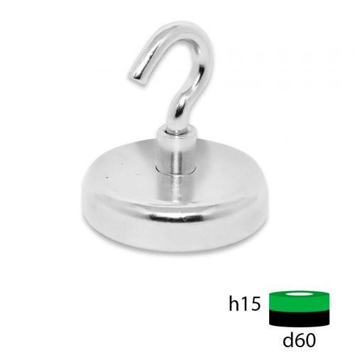 Магнитное крепление с крюком Е60