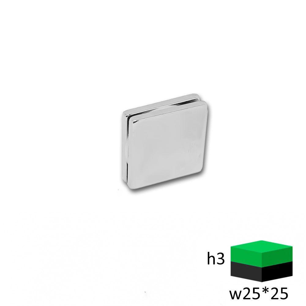 Неодимовый магнит прямоугольник 25х25х3 мм.