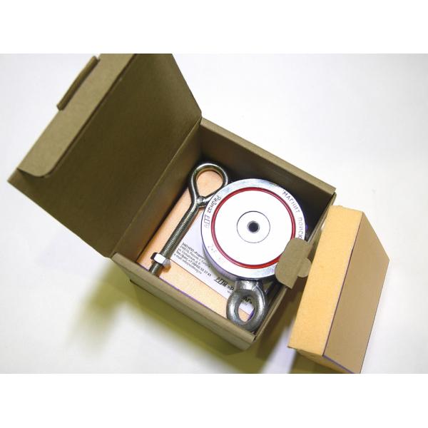 Поисковый магнит двухсторонний F300х2 Редмаг (300 кг.)