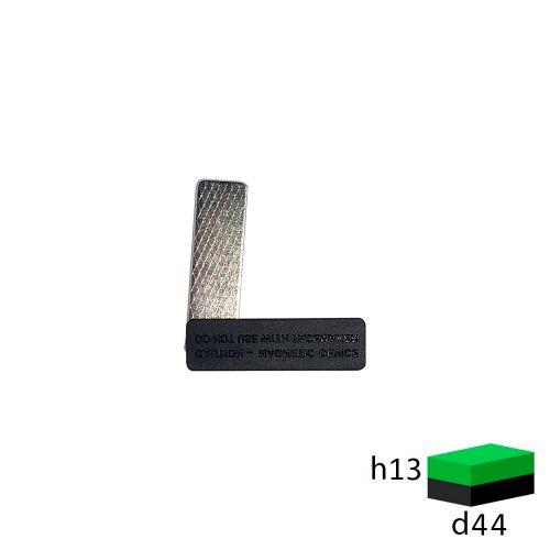 Магнитное крепление для бейджа 44х13 (пластик)