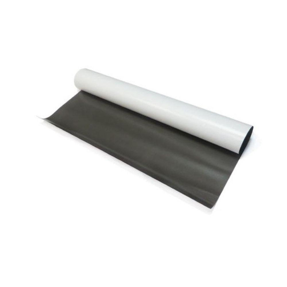 Магнитный винил лист с клеевым слоем 1000х620 мм ( 0,4 мм. )