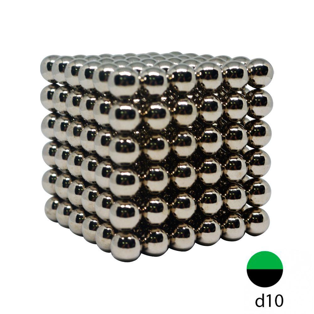 Неокуб металлический 10 мм. (Самый большой в России)