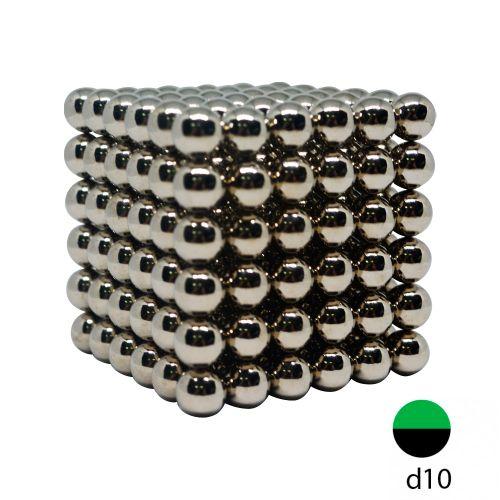 Неокуб стальной 10 мм. (Самый большой в России, 216 шариков)