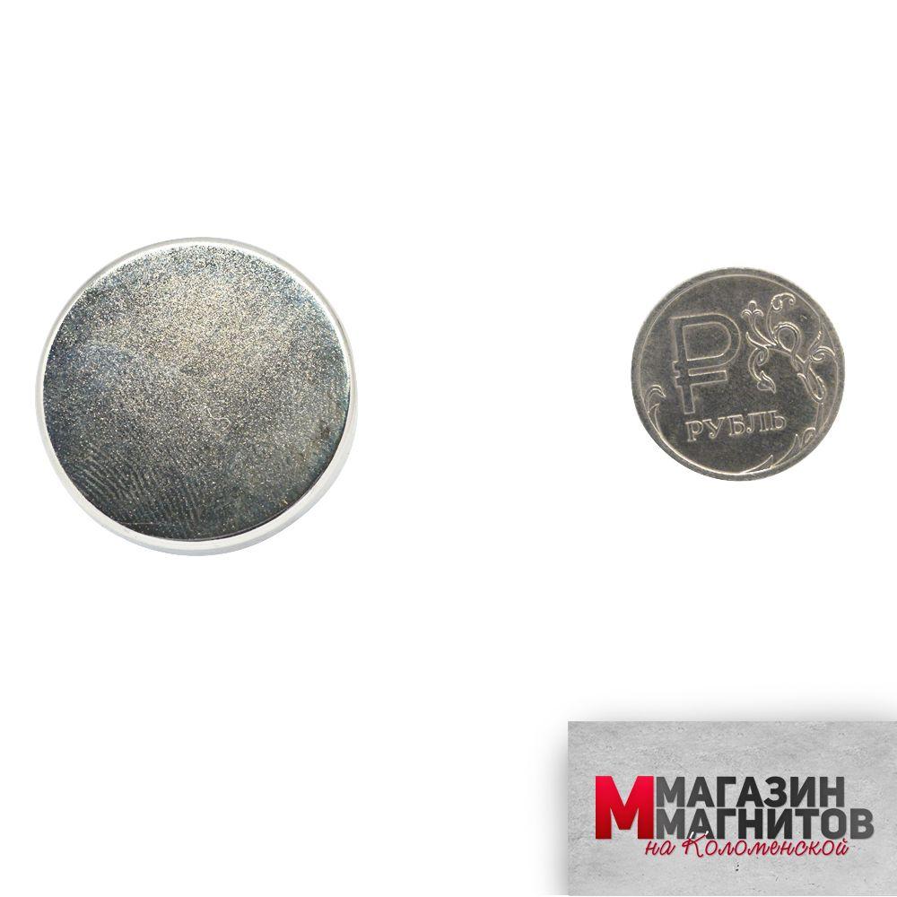 Неодимовый магнит 30х5 мм.