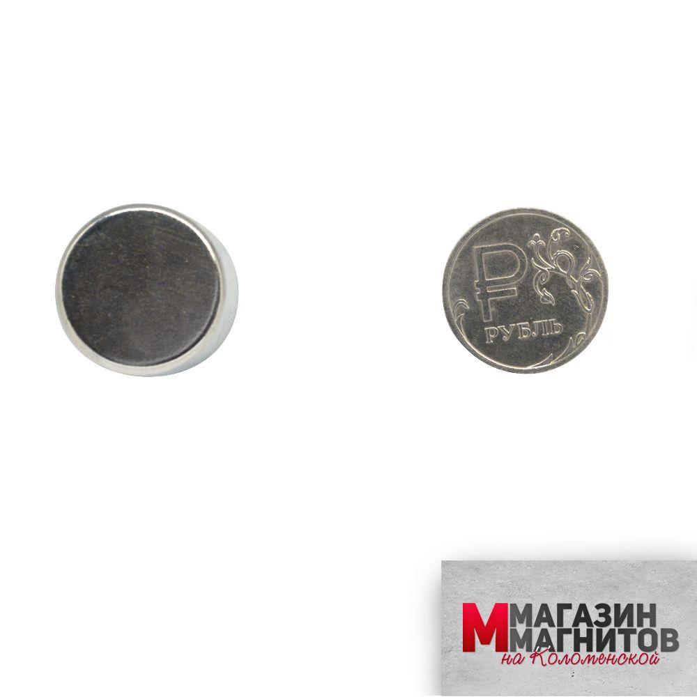 Неодимовый магнит 20х15 мм.