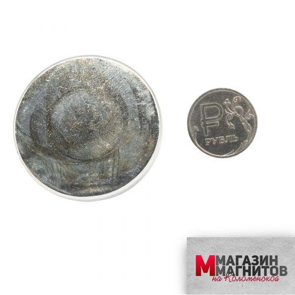 Неодимовый магнит 40х5 мм.