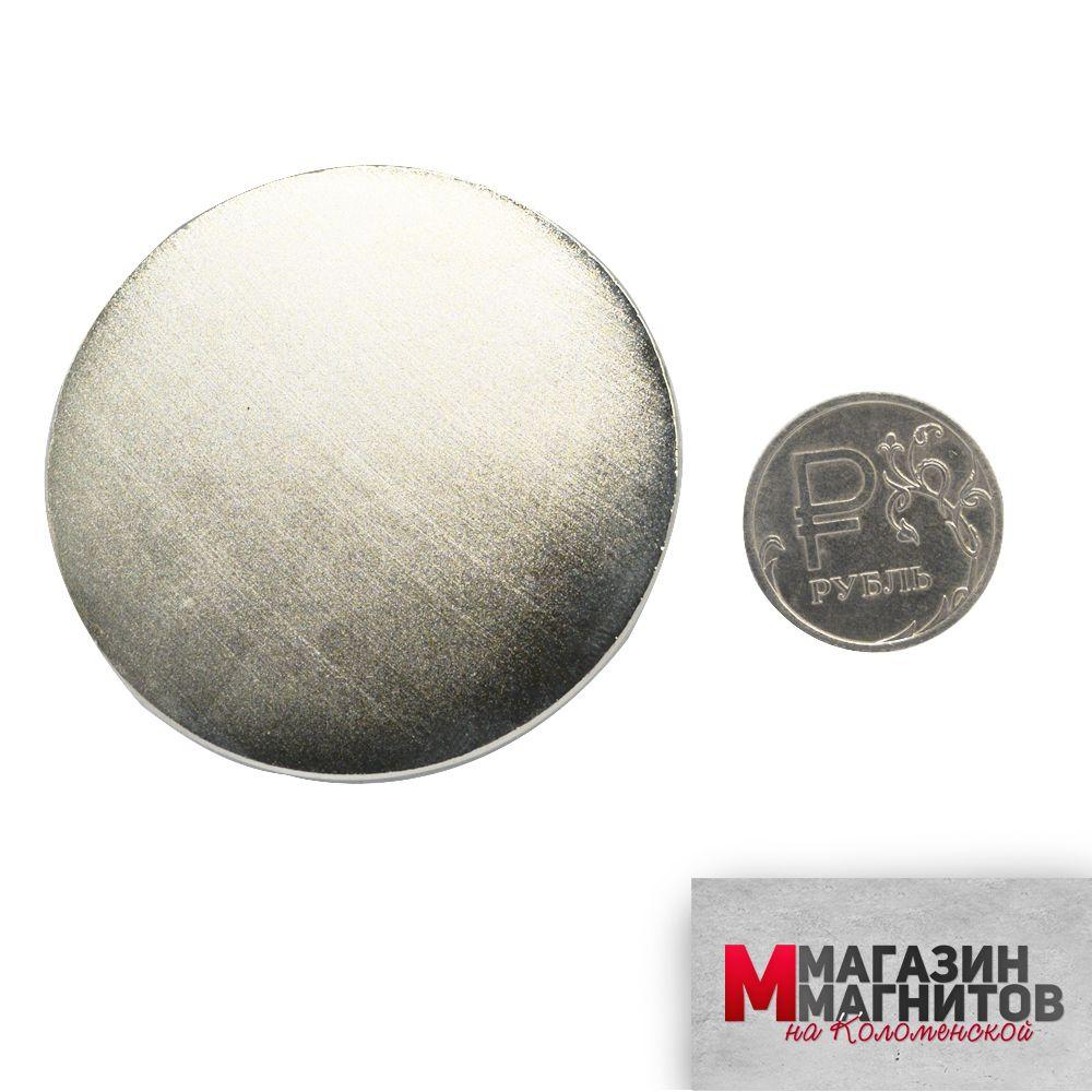 Неодимовый магнит 60х40 мм.