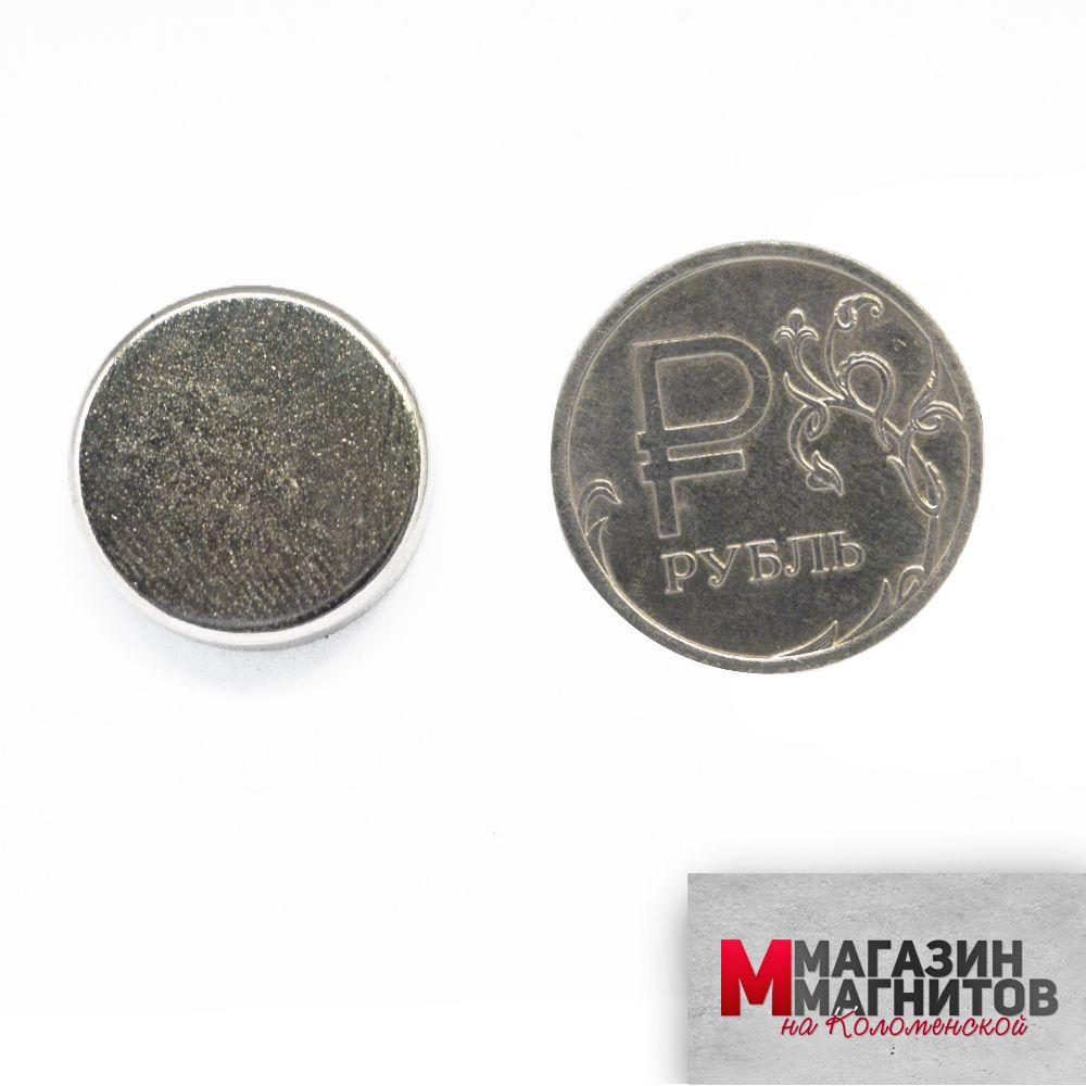 Неодимовый магнит 18х5 мм.