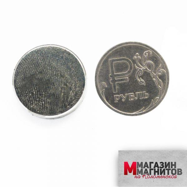 Неодимовый магнит 20х5 мм.