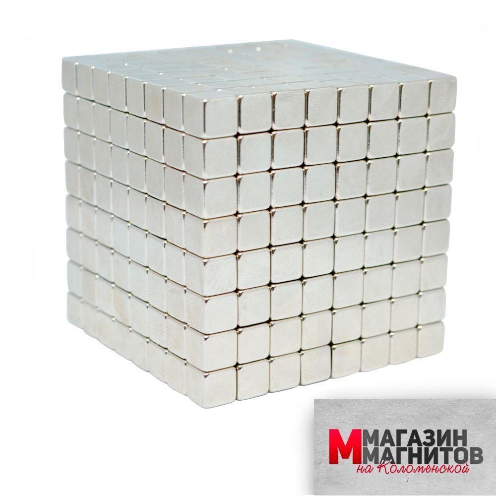 Тетракуб 512 кубиков 7х7х7 мм.