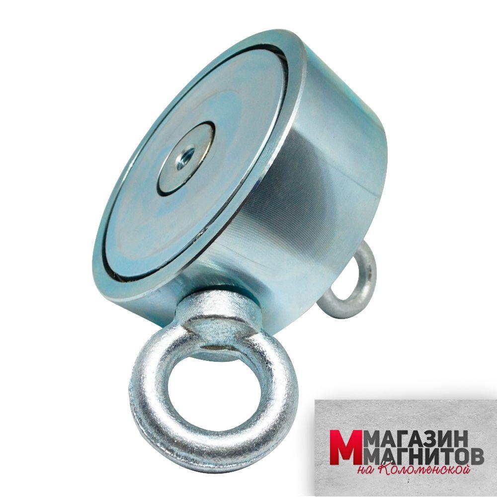 Поисковый магнит двухсторонний F700х2 (700 кг.)