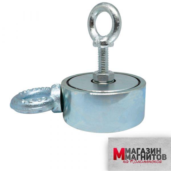 Поисковый магнит двухсторонний F300х2 (300 кг.)