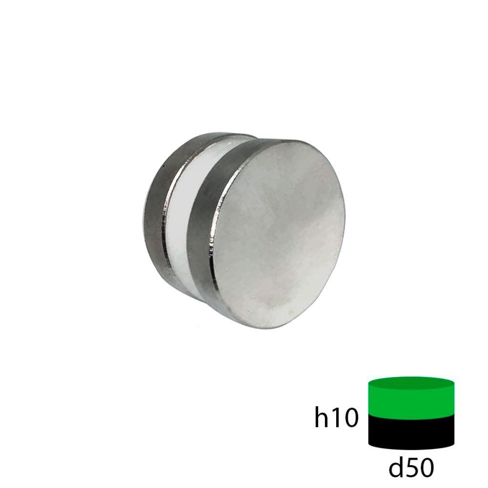 Неодимовый магнит 50х10 мм.