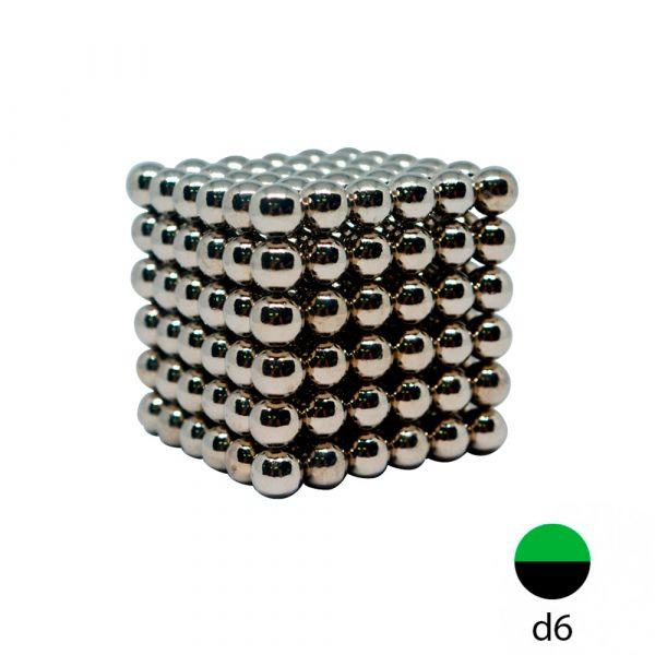 Неокуб 6 мм. - металлический