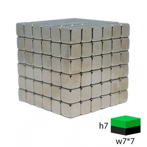 Тетракуб  7х7х7 мм. (216 кубиков)