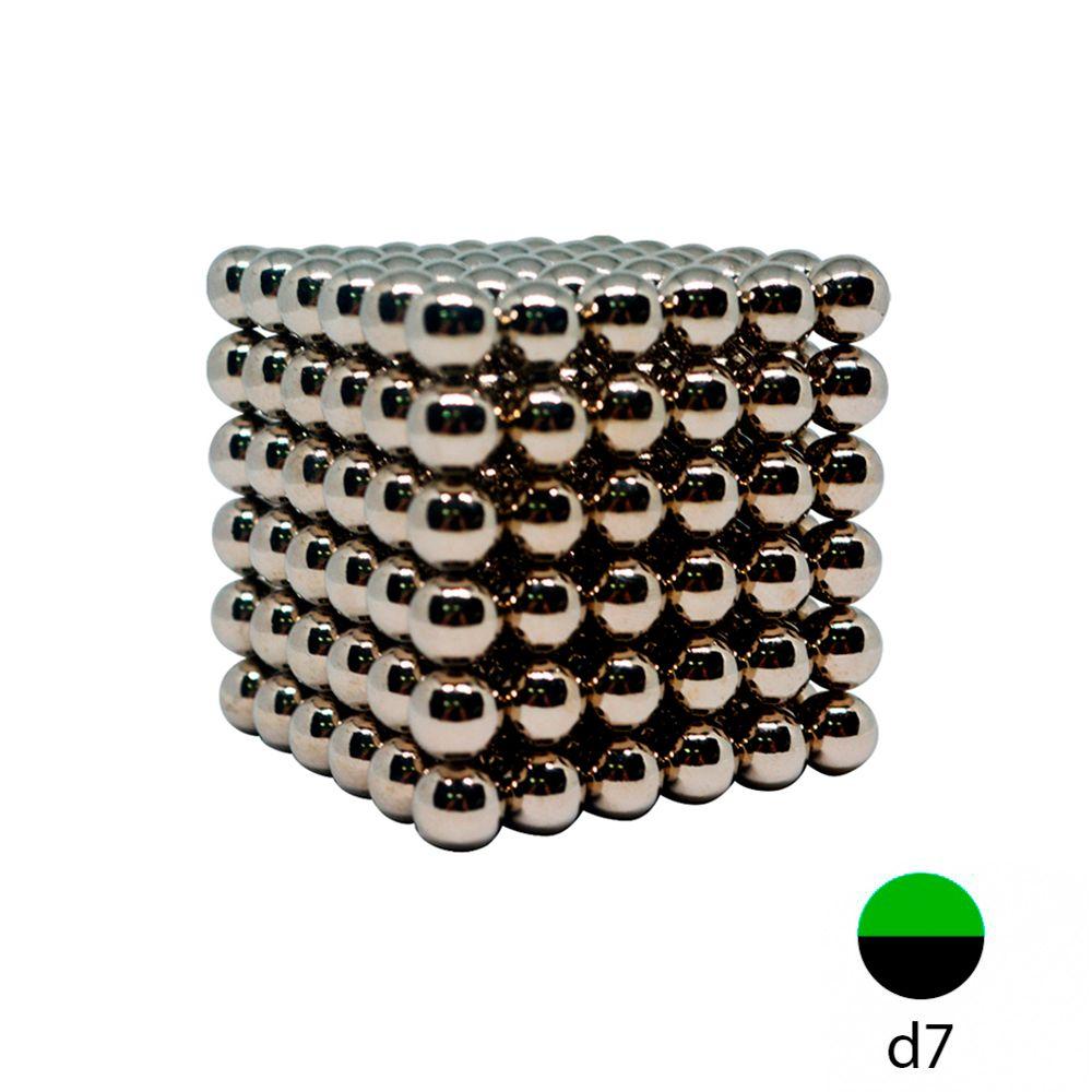 Неокуб 7 мм. металлический