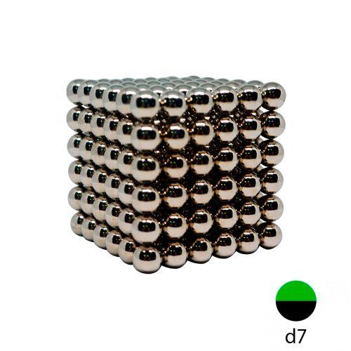 Неокуб стальной - 7 мм (216 шариков)