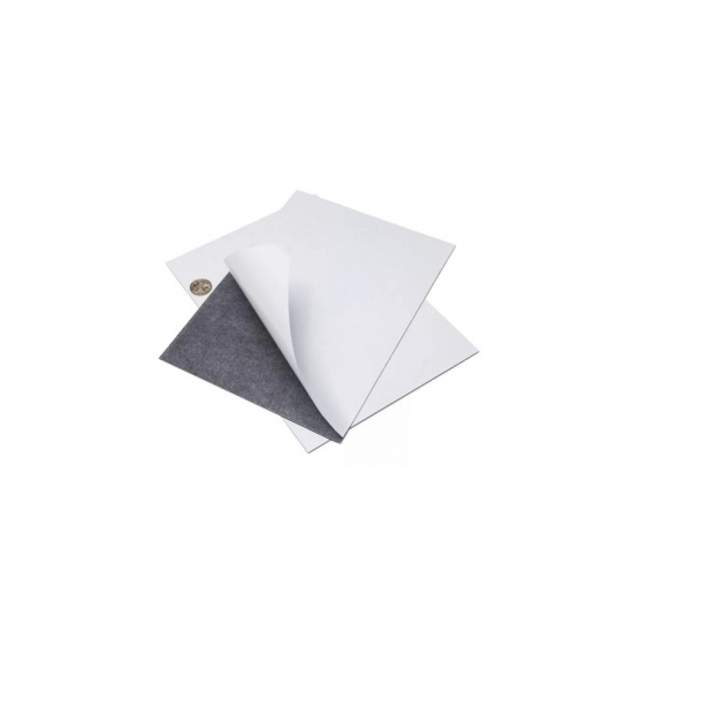 Магнитный винил лист с клеевым слоем А5 ( 0,4 мм. )