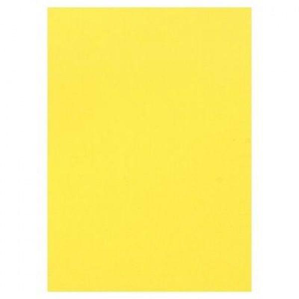 Магнитный винил лист А4 Желтый ( 0,4 мм. )