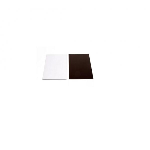 Магнитный винил лист с клеевым слоем 150х100 мм ( 0,4 мм. )
