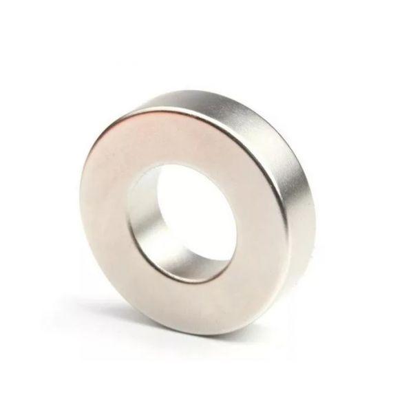 Неодимовый магнит кольцо 40х20х10 мм.