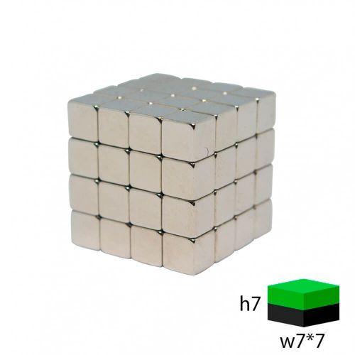 Тетракуб 64 кубика 7х7х7 мм.